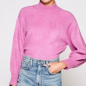 Joie Jenlar Bishop-sleeve Sweater In Orchid